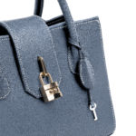 Amethyst Satchel Bag Blue