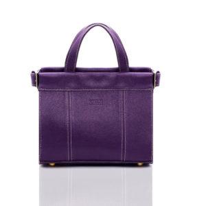 Violet camera bag