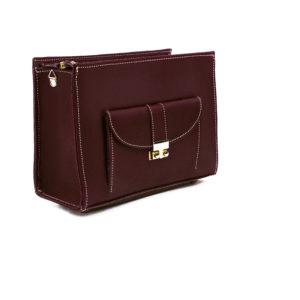 Wine Mini Handbag Bordeaux