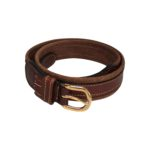 Brown Leather Belt for women