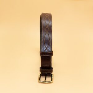 Dack Brown Leather Belt