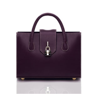 Amethyst Satchel Bag purple
